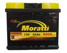 Аккумулятор Moratti 55 п/п (кубик )