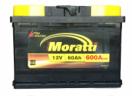 Аккумулятор Moratti 60 о/п (низкий)
