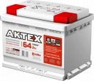 Аккумулятор АKTEX 64 А/ч ЕВРО