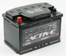 Аккумулятор ACTIVE FROST 6СТ-75 п.п