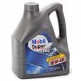 Моторное масло Mobil  Super 2000x1 10W40 4л., п/синт.